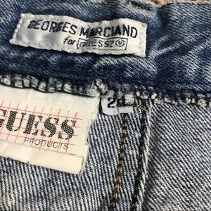Guess Skirts - Vintage georges marciano guess denim skirt 26